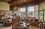 1,000 sqft Great Room with Teton views from the floor to ceiling windows.