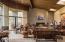 1,000 sqft Great Room with Teton views.
