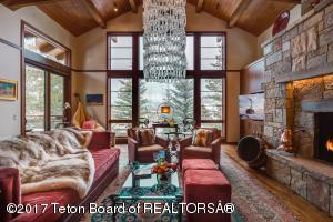Elegant Great Room with Big Valley Views in this Stand Alone Townhome