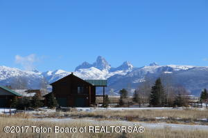 View from the property facing the Tetons