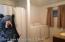 Guest cabin bathroom