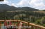 View from rear porch overlooking the Wind River Range of the approx. 2.5 million acre Shoshone National Forest