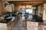 Opposite View Of Kitchen - Barnwood Style Plank Tile Flooring