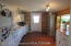 Bright / Cheery Kitchen! Looking Toward Rear Door.