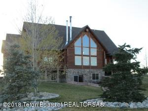 East facing wall of windows. Take in the breathtaking view of the Wind River Mountains.