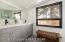 8 Master Bath Dual Vanity + Window to Ba