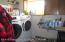 utility room w/newer washer dryer