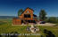 Back yard with fire pit