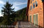 Huge front deck looking over the valley