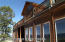 On grade living space/with huge picture windows