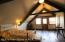 The loft is airy and cozy and you immediately notice the balcony where Fremont Peak is perfectly framed in the distance.