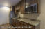 Lower level Kitchen, mother in laws quarters