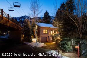 Rare ski-in ski-out property in famed Jackson Hole