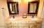 Master Bathe with double sinks and custom mirrors