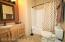 Hall bath includes access from 2nd bedroom