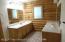 dual vanities in master bedroom