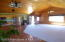 some hardwood floors and wide hallway