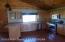 Open floor plan with kitchen off great room