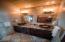 Main Floor Master Bathroom - Honey Onyx Marble