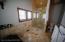 Main Floor Master Shower - Honey Onyx Marble