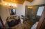 Second Floor Master Bathroom - Brazilian Rain Forest Marble