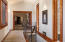 Hallway from bedrooms to Kitchen