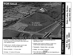 S Highway 45 & Eason Blvd., Tupelo, MS 38801