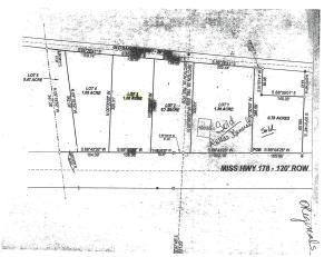 Lot #3 Hwy 178, Mooreville, MS 38857