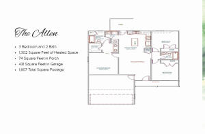 1074 CR 90 (Lot 36 Allen Plan), New Albany, MS 38652
