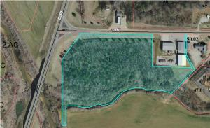 (7.26 acres) Hwy 345/Main, Ecru, MS 38841