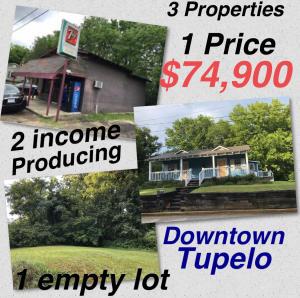 632 & 628 N Spring St., Tupelo, MS 38804