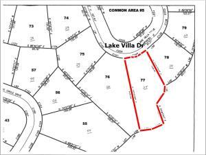 Lot 77 Lake Villa Dr., Tupelo, MS 38801