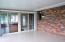 View 3 Sun Room - brick side is Kitchen area w/ window