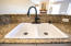 ceramic sink with high end fixtures