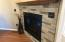 Or it might be the stone fireplace that catches your eye.