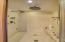 Master bedroom steam shower