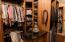 Main residence master closet