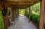 Original log cabin porch