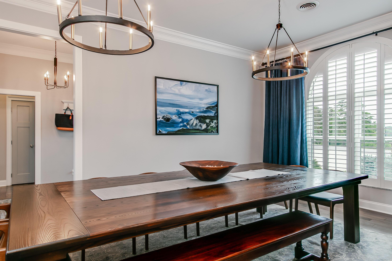 Custom table conveys with house
