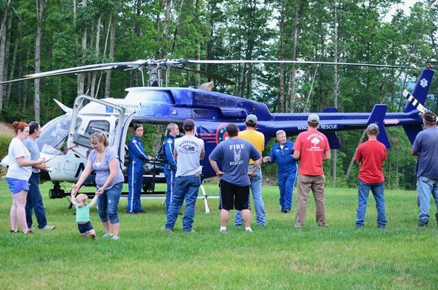 Wings Heli Event