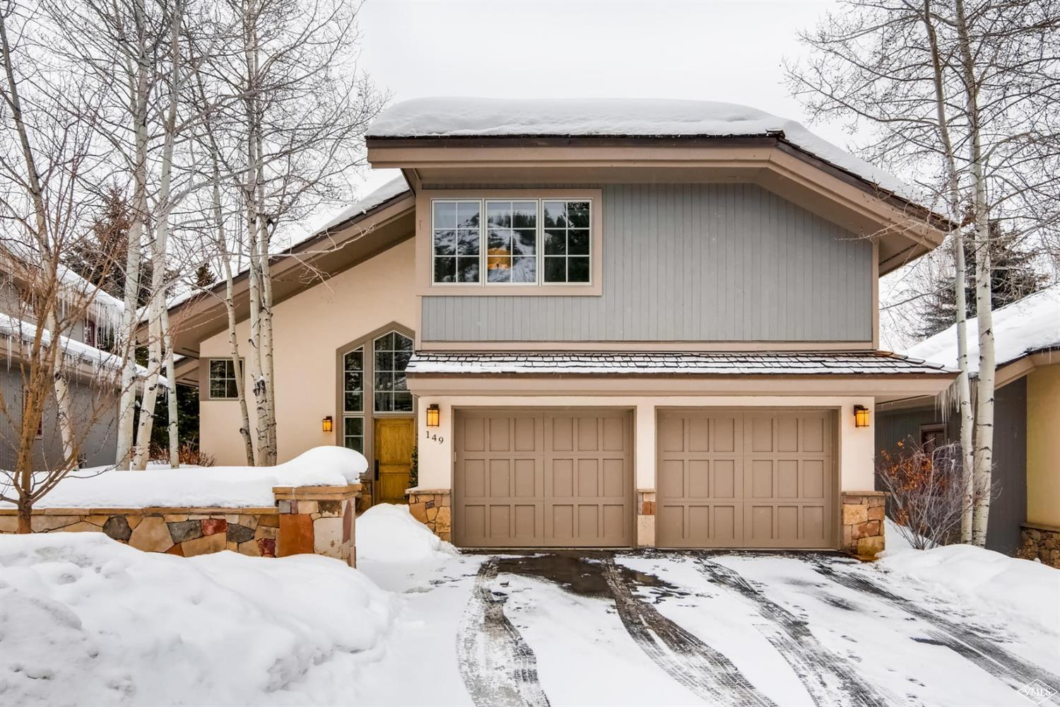 Photo of home for sale at 149 Fairway Drive, Beaver Creek CO