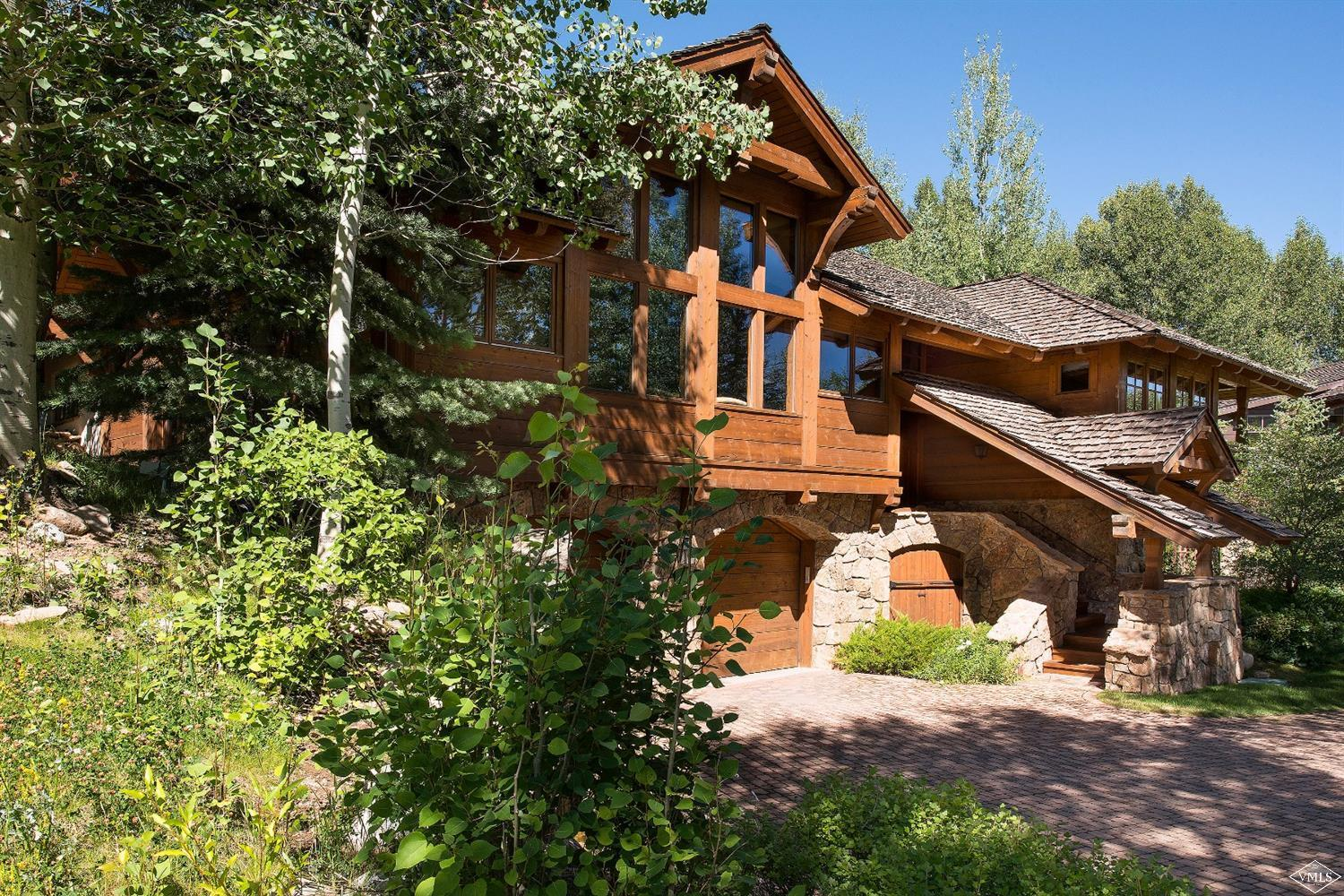 Photo of home for sale at 43 Highline Drive, Beaver Creek CO