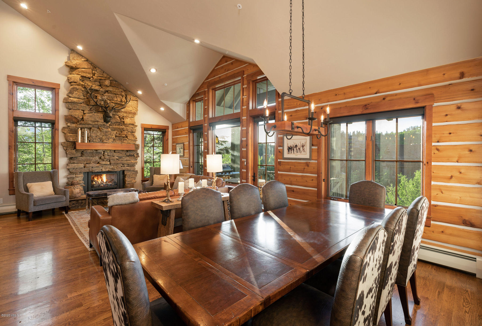 Photo of home for sale at 264 Bachelor Ridge Road, Avon CO