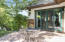 Backyard secondary patio (west side)