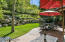 Primary backyard patio & yard
