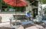 Primary backyard patio