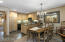 Easy living with large dining and kitchen areas