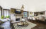 Living, dining, and kitchen virtual remodel