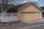 2- car garage w/ opener, 3 remotes and entry door, plus gate entry to rear yard w/ paver brick walk