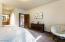 Lower level 2nd bedroom with en-suite bath